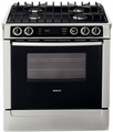 "HDI7052 Bosch 30"" Integra 700 Series Slide-In Dual Fuel Range - Stainless Steel"