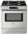 "HDI7282U Bosch 30"" Pro Slide-In Dual Fuel Convection Range - Stainless Steel"