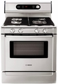 HDS7282U Bosch Evolution 720 Series Freestanding Dual Fuel Range - Full Stainless Steel