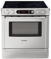 "HEI7282U Bosch 30"" Pro 4.6 cu. ft. Slide-In Electric Range - Stainless Steel"