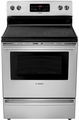 "HES3053U Bosch 30"" Evolution 300 Series Freestanding Electric Range - Stainless Steel"