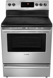 "HES5053U Bosch 30"" Evolution 500 Series Freestanding Electric Range - Stainless Steel"