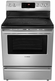 "HES5L53U Bosch 30"" DLX Electric Freestanding Range 500 Series - Stainless Steel"