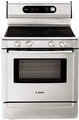 "HES7282U Bosch 30"" Evolution 720 Series Freestanding Electric Range - Full Stainless Steel"