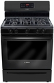 HGS3063UC Bosch Evolution 300 Series Freestanding Gas Range - Black