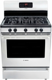 HGS5053UC Bosch Evolution 500 Series Freestanding Gas Range - Stainless Steel