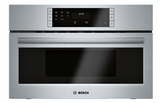 "HMB50152UC 30"" Bosch 500 Series Built-In Microwave Oven with Sensor Cook Programs and 1.6 cu ft. Capacity - Stainless Steel"