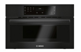 "HMB50162UC 30"" Bosch 500 Series Built-In Microwave Oven with Sensor Cook Programs and 1.6 cu ft. Capacity - Black"