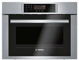 "HMC54151UC 24"" Bosch 500 Series Microwave 2-in-1 Convection Speed Oven with 10 Power Levels and 1.6 cu ft. Capacity - Stainless Steel"