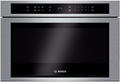 "HMD8451UC Bosch 800 Series 24"" Built-in Drawer Microwave Oven with Glass Touch Controls - Stainless Steel"