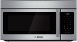 "HMV3052U Bosch 300 Series 30"" Over the Range with Venting Options - Stainless Steel"