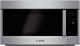 "HMV5052U Bosch 500 Series 30"" Over the Range Microwave with Seamless Vent Cover - Stainless Steel"