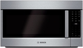 "HMV8052U  Bosch 800 Series 30"" Over the Range Microwave with Venting Options & White LED - Stainless Steel"