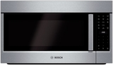 "HMV8052U Bosch 800 Series 30"" Over the Range Convection Microwave with Venting Options & White LED - Stainless Steel"
