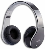 IAHB64B iLive Bluetooth Stereo Headphones with Microphone - Black