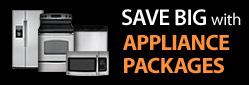 Save Big with appliance packages
