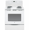 "JB250DFWW GE 30"" Free-Standing Electric Range - White"