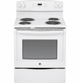 "JB350DFWW GE 30"" Free-Standing Electric Range - White"