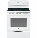 "JB640DFWW GE 30"" Free-Standing Electric Range - White"