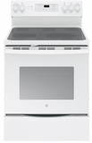 "JB700DJWW GE 30"" Free-Standing Electric Convection Range with 12""/9"" Dual Element for Flexibility - White"
