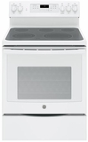 "JB750DJWW GE 30"" Free-Standing Electric Convection Range with Precise Air - White"