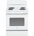 "JBS45DFWW GE 30"" Free Standing Electric Range with 5.0 Cu. Ft. Oven Capacity - White"