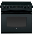 "JD630DFBB GE 30"" Drop-In Electric Range - Black"