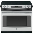 "JD750SFSS GE 30"" Drop-In Electric Convection Range - Stainless Steel"