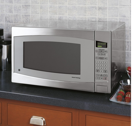 Stainless Steel Countertop Microwave For Sale : ... GE Profile 2.2 Cu. Ft. Capacity Countertop Microwave - Stainless Steel