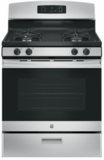 "JGBS60REKSS GE 30"" Free-Standing Range with 4.8 cu. ft Capacity and Sealed Cooktop Burners - Stainless Steel"