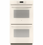 "JK3500DFCC GE 27"" Built-In Double Wall Oven - Bisque"