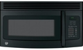 JNM3151DFBB GE 1.5 Cu Ft 950W Over-the-Range Microwave - Black on Black