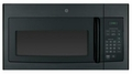JNM3161DFBB GE 1.6 cu. ft. Over-the-Range Electric Microwave Oven with Recirculating Venting - Black