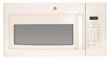 JNM3161DFCC GE 1.6 cu. ft. Over-the-Range Electric Microwave Oven with Recirculating Venting - Bisque