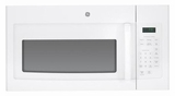 JNM3161DFWW GE 1.6 cu. ft. Over-the-Range Electric Microwave Oven with Recirculating Venting - White