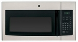 JNM3161MFSA GE 1.6 cu. ft. Over-the-Range Electric Microwave Oven with Recirculating Venting - Metallic Stainless Steel Appearance
