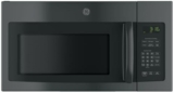 "JNM3163DJBB GE 30"" 1.6 cu. ft. Over-the-Range Microwave Oven with 1,000 Watts and Two-Speed 300-CFM Venting System - Black"