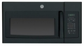 JNM6171DFBB GE 1.7 cu. ft. Over-the-Range Electric Microwave Oven with Recirculating Venting - Black