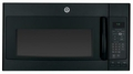 JNM7196DFBB GE 1.9 cu. ft. Over-the-Range Electric Sensor Microwave Oven with Recirculating Venting - Black