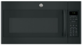"JNM7196DKBB GE 30"" 1.9 cu. ft. Over-the-Range Microwave with 1,000 Watts, 10 Power Levels and Melt Feature - Black"