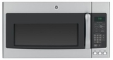 JNM7196SFSS GE 1.9 cu. ft. Over-the-Range Electric Sensor Microwave Oven with Recirculating Venting - Stainless Steel