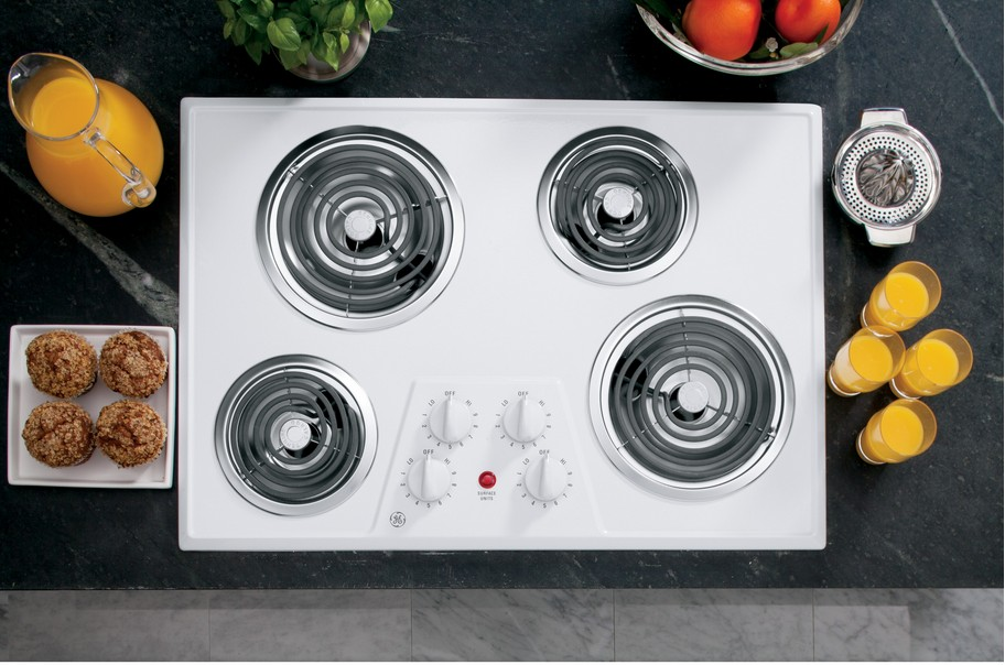 Inch electric cooktop with 36 downdraft induction
