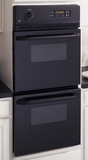 "JRP28BJBB GE 24"" Built-in Double Wall Oven - Black"
