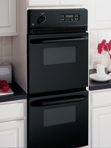 Jrp28bjbb Ge 24 Quot Built In Double Wall Oven Black