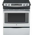 "JS630SFSS GE 30"" Slide-In Electric Range - Stainless Steel"