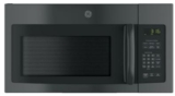 "JVM3162DJBB GE 30"" 1.6 cu. ft. Over the Range Microwave with Convenience Cooking Controls and Two-Speed 300 CFM Venting System - Black"