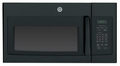 JVM6170DFBB GE 1.7 cu. ft. Over-the-Range Electric Microwave Oven - Black
