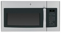 JVM6172RFSS GE 1.7 cu. ft. Over-the-Range Electric Microwave Oven - Stainless Steel with Black Case