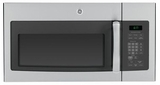 JVM6172SFSS GE 1.7 cu. ft. Over-the-Range Electric Microwave Oven - Stainless Steel with Gray Case