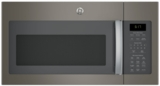 "JVM6175EKES GE 30"" 1.7 cu. ft. Over-the-Range Microwave with 1,000 Watts, 300 CFM Ventilation and 10 Power Levels - Stainless Steel"